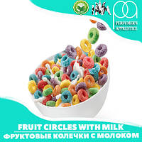 Ароматизатор TPA/TFA  Fruit circles with milk ( Фруктовые колечки с молоком ) 5 мл