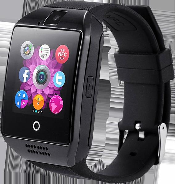 cac80e03 SmartWatch Q18, Емкостный экран, NFC, 3 темы циферблата, SIM-карта,  Шагомер, Камера, Bluetooth 3.0