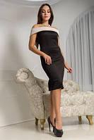 Платье черное Арагви.