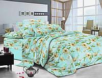 Полуторное постельное белье из сатина Комфорт Текстиль