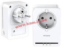 Адаптер D-Link DHP-P308AV Powerline 200Mbit, 2шт в комплекте (DHP-P309AV)