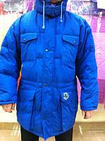 Мужская зимняя куртка пуховик размер 54-58