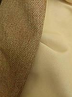 Однотонная штора лен/SOFT, фото 1