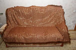Двухспальные гобеленовые покрывала Бризги шампанского коричневый, фото 2