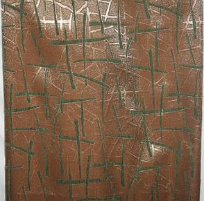 Двоспальні гобеленові покривала Бризги шампанського зелений, фото 2