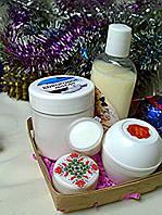 Набор косметики ручной работы ( маска для волос,бальзам-кондиционер,дневной,ночной крема)