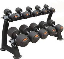 Гантельный ряд обрезиненый Stein 12,5-25 кг (6 пар)