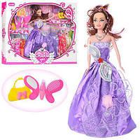 Кукла в кор 28см  плать та аксесуари 092B (36)