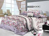 Набор постельного белья полуторный из сатина украинская торговая марка Комфорт Текстиль