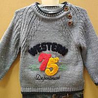 Зимний свитер для мальчика