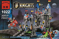 Детский конструктор Brick Enlighten серия Рыцари 1022 (Разводной мост замка Льва)