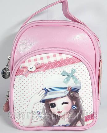 """Рюкзак - сумка дитячий """"Милашка"""" для дівчинки, фото 2"""