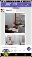 Складные маникюрные столы по индивидуальному дизайну и размерам - благодарная клиентка UkrBest показывает, как выглядит мебель нашего производства в интерьере маникюрного салона.