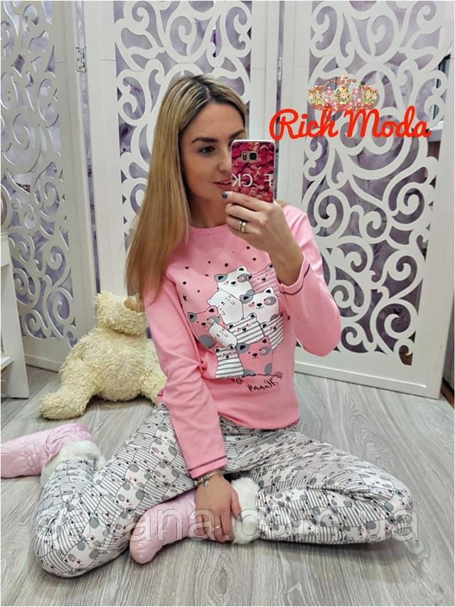 женский костюм-пижама