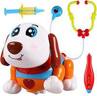 Интерактивный щенок с набором доктора 11033