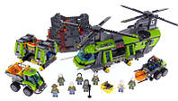 """Модный конструктор для детей типа LEGO Bela 10642 """"Тяжёлый транспортный вертолёт Вулкан"""""""
