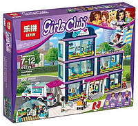 Детский конструктор типа LEGO Lepin 01039 Клиника Хартлейк-Сити