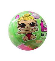 Кукла-сюрприз лол21405 (Lol surprise dolls), 4,5см, шар 7см, наклейки, аксессуары
