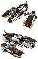 """Яркий конструктор для детей Ninja Bela 10529 аналог Lego Ninjago 70595 """"Ультра стелс рейдер"""""""