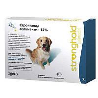 Zoetis Стронгхолд 12% для собак 10,1 -20кг, 1мл,  3 пипетки