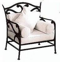 Кресло кованое 3