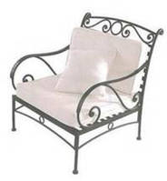 Кресло кованое 4