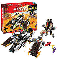 """Игрушка для детей - Конструктор Ninja Bela 10529 аналог Lego Ninjago 70595 """"Ультра стелс рейдер"""""""