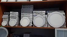 Світлодіодний світильник 6w коло пластик