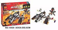 """Модный конструктор для детей типа LEGO Bela Ninja 10529 """"Ультра стелс рейдер"""" 1135 дет."""
