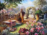 Картины по номерам 40 х 50 см. Райский сад., фото 1