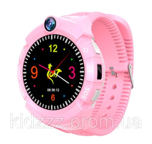 Детские умные часы с GPS трекером S-02