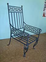 Кресло кованое 11