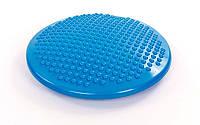Подушка балансировочная массажная BALANCE CUSHION (PVC, d-38см, 1000гр, синий)
