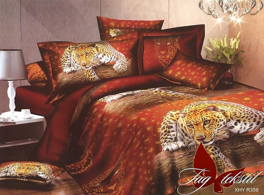 Комплект постельного белья XHY359 двуспальный (TAG polycotton (2-sp)-389)