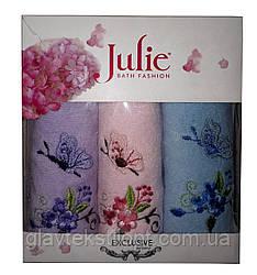 Подарунковий набір рушників (30*50) Julie Туреччина 3шт