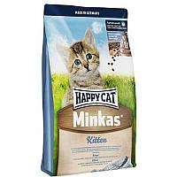 Корм для котят Minkas Kitten начиная с 4-й недели жизни 10,0 кг супер-премиум (70299) Happy Cat (Хэппи Кэт)
