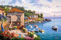 "Картины по номерам 40 х 50 см.""Дом на берегу океана"""