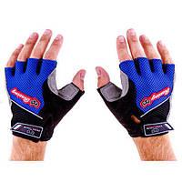 Перчатки для фитнеса Knigh Thood (замша, трикотаж, р-р M-XL, цвет в ассортименте)