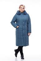 Пальто из плащевки кролик ЗИМА, р.54,56,58,60 код 3721М