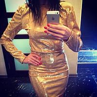 Платье из паеток 8000
