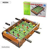 Футбол деревянный HG235A в коробке 52*30*8 см.