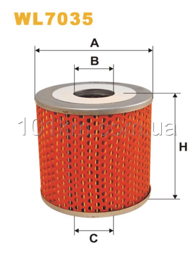 Фильтр масляный WIX WL7035 (OM515)