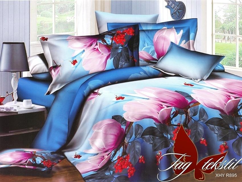 Комплект постельного белья XHY895 двуспальный (TAG polycotton (2-sp)-393)
