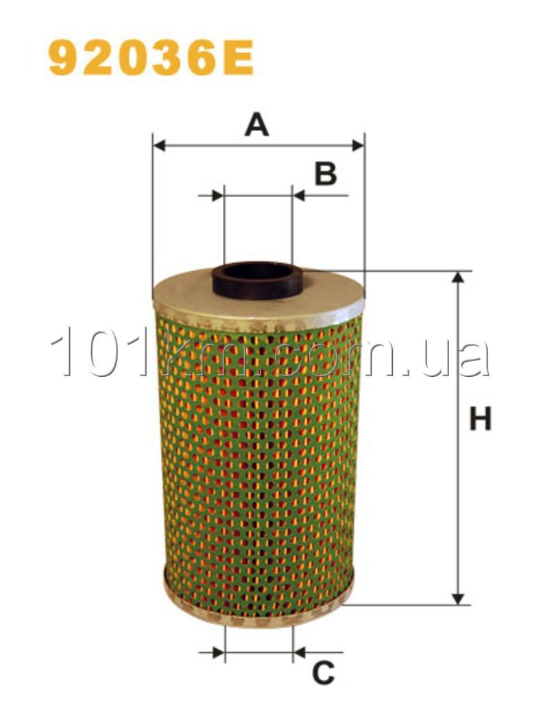 Фильтр масляный 92036E (OM514/3)