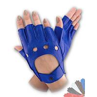 Авто перчатка из натуральной кожи без подкладки модель 244