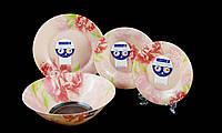 """Столовый Сервиз Luminarc """"Pastel Pink"""" 19 Предметов (N6263), фото 1"""