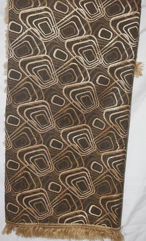 Покрывала Ромбы двусторонние на большие кровати коричневого цвета, фото 2