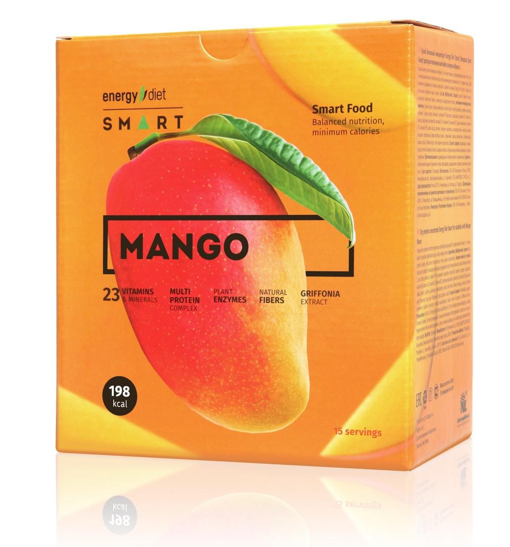 ПОШТУЧНО Energy Diet Smart «Манго» Сбалансированное питание энерджи диет