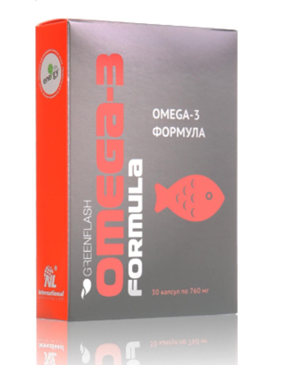Комплекс полиненасыщенных жирных кислот Омега-3 из морской рыбы северных широт и льняного масла