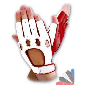 Авто перчатка из натуральной кожи без подкладки модель 314_1, фото 2